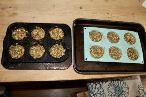 Spelt Pumpkin Muffins