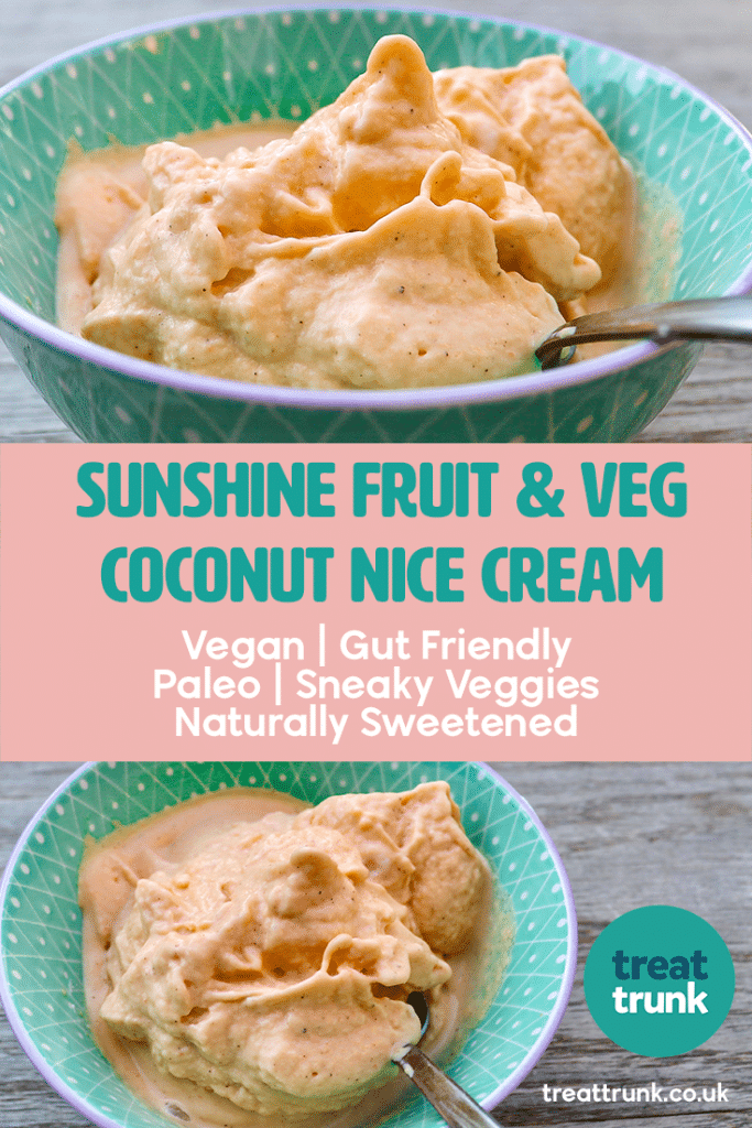 Sunshine Fruit & Veg Coconut Nice Cream Recipe