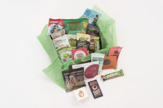Sample Healthy Snack Box