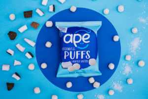 Salted Coconut Puff Ape Snacks