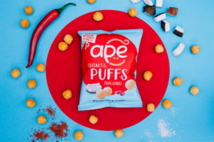 Thai Chilli Coconut Puffs Ape Snacks