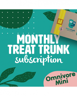 Treat Trunk Omnivore Mini Monthly Subscription