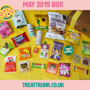 Show what was in our May 2019 box