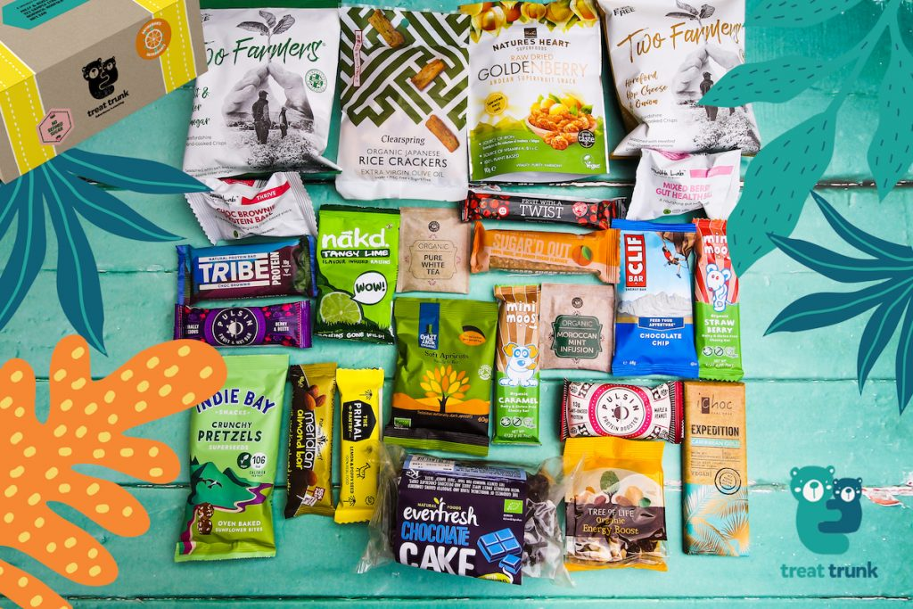 October 2019 Discovery Treat Trunk Healthy Snack Box Contents