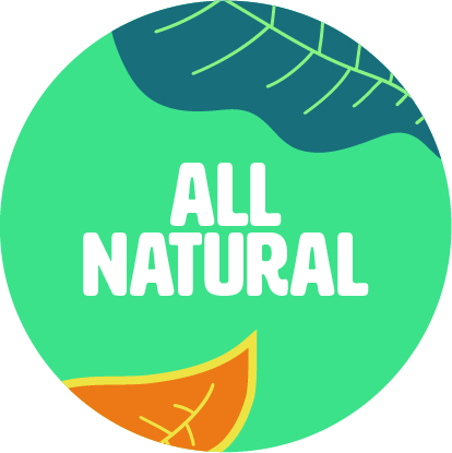 All Natural Sticker