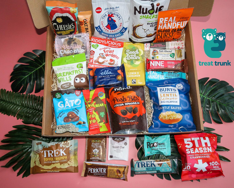 November 2019 Treat Trunk Healthy Snack Box_