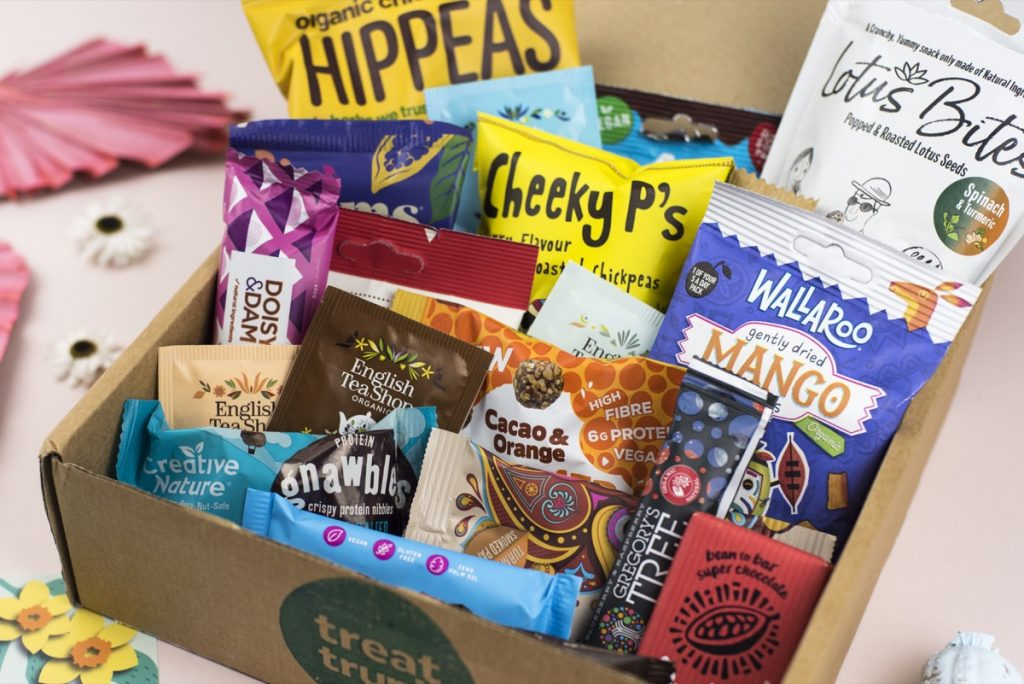 Treat Trunk Healthy Snack Box New Mums