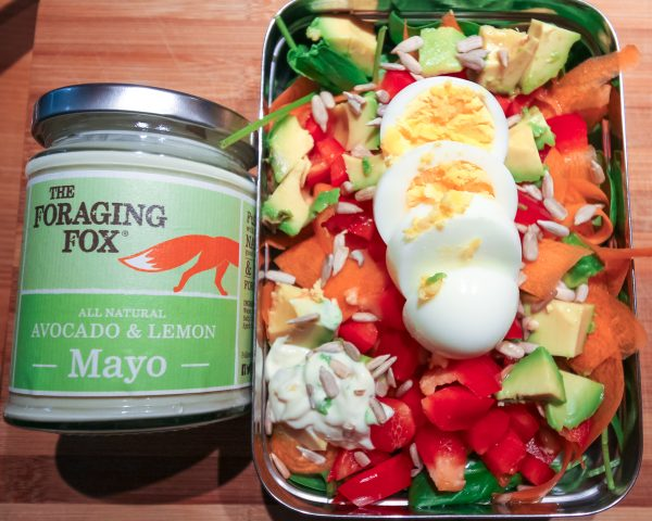 Healthy Packed Lunch Egg Salad