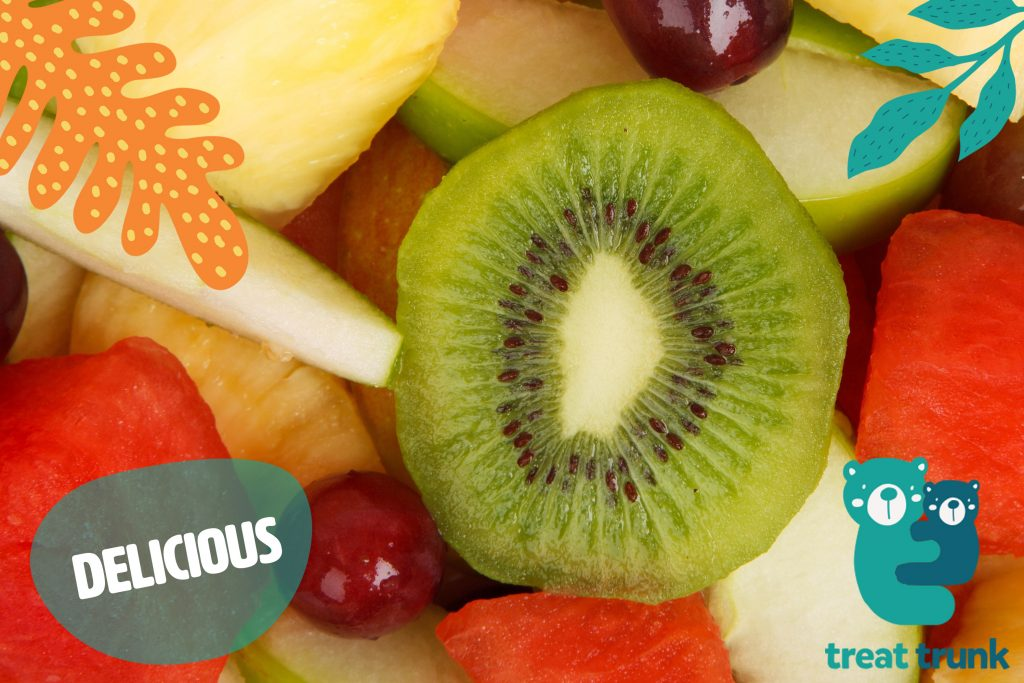 kiwi and fruits for a make ahead healthy lunch