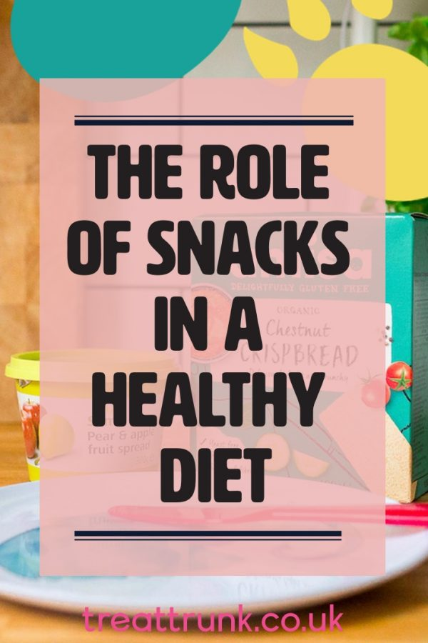 the role of snacks in a healthy diet