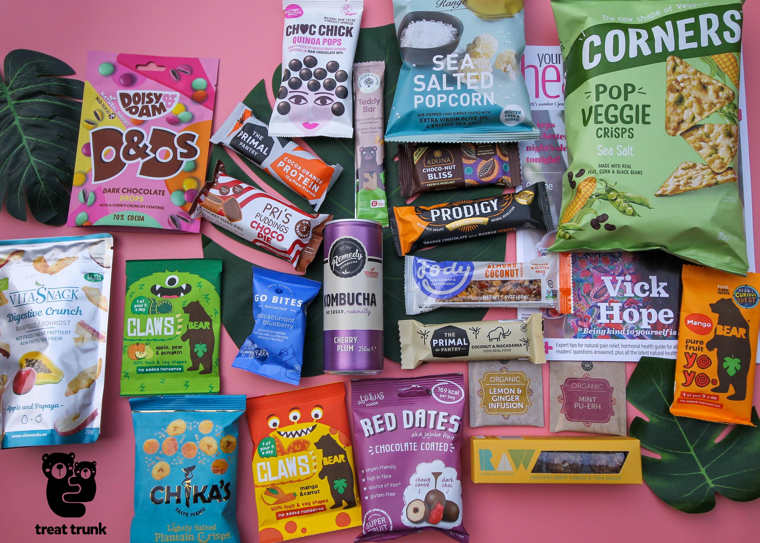 March 2020 Healthy Snack Box