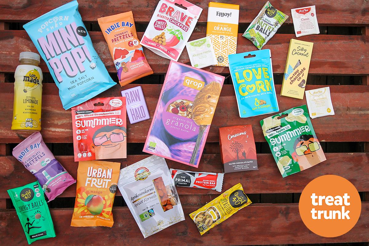 October Treat Trunk Healthy Snack Box
