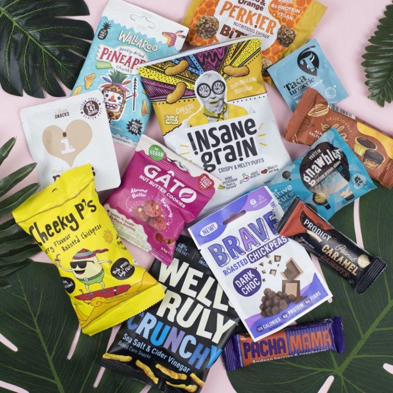 Treat Trunk Healthy Vegan Snack Box