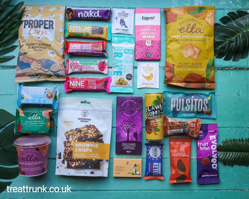 February 2021 Treat Trunk Healthy Snack Box