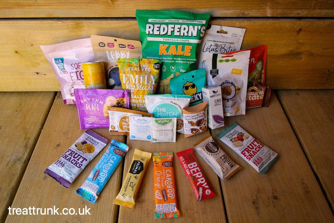 April Treat Trunk Healthy Snack Box