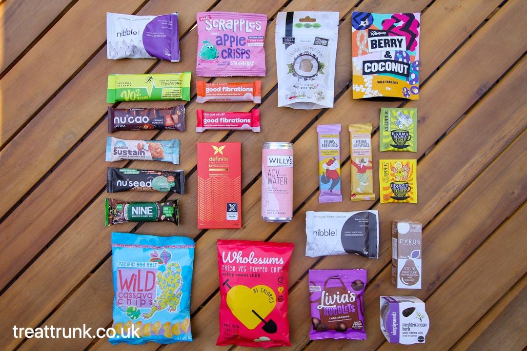 Treat Trunk May 21 Healthy Snack Box