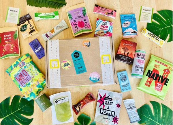 July 21 Treat Trunk Healthy Vegan Snack Box