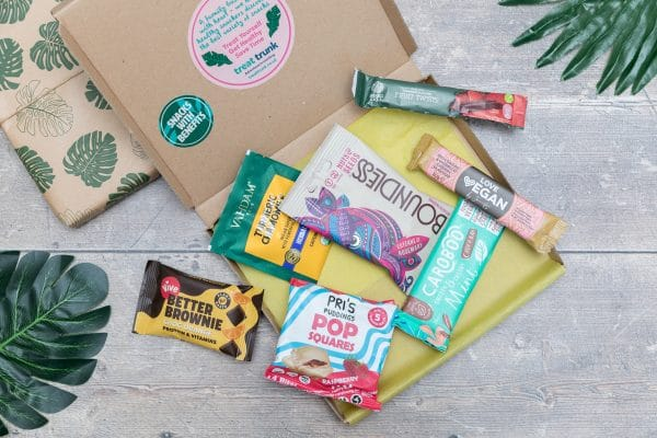 Treat Trunk Healthy Vegan Snack Box Letterbox14