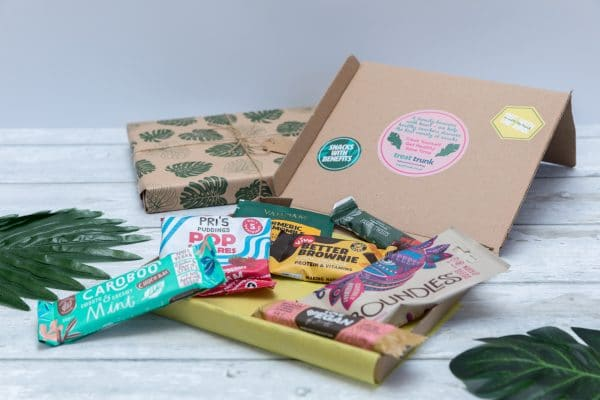 Treat Trunk Healthy Vegan Snack Box Letterbox